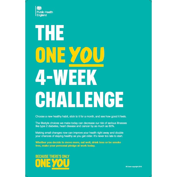 A4 Employer Poster: 4 Week Workplace | Campaign Resource ...