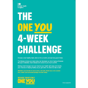Thumbnail for A4 Employer Poster: 4 Week Workplace Challenge