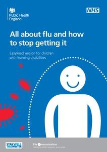 Thumbnail for Easy read childhood nasal flu leaflet