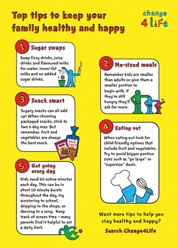 Top Tips for Kids