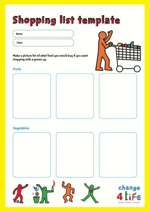 Our Healthy Year: Reception classroom activity sheets | PHE School Zone