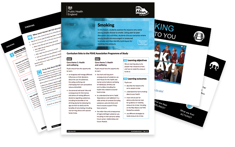 Smoking lesson plan pack