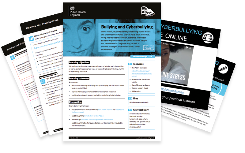 Bullying lesson plan pack
