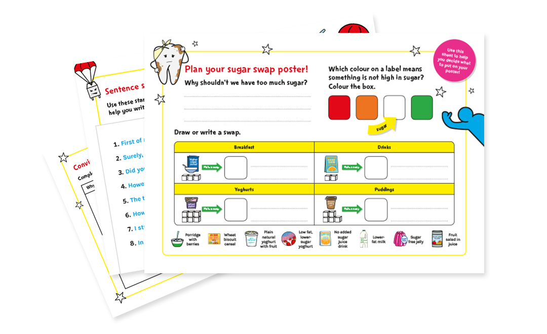 KS1 and KS2 English worksheets