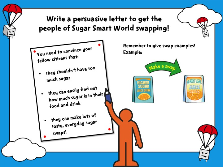 Sugar Smart World – Upper KS2 English lesson PowerPoint