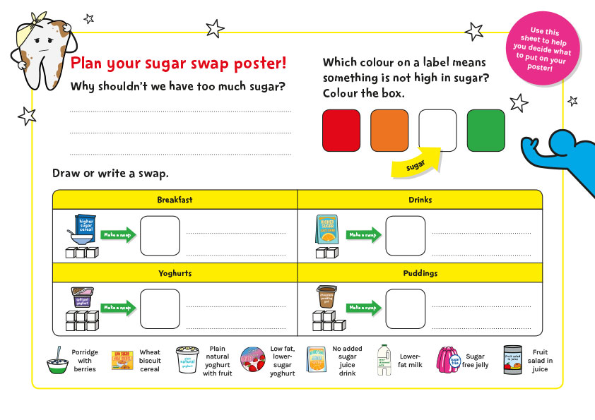 Sugar Smart World - KS1 English worksheet
