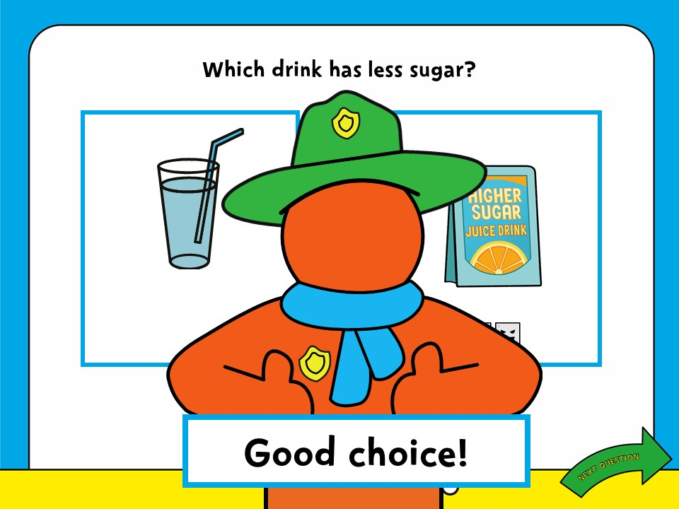 Sugar Smart World – early years lesson Powerpoint