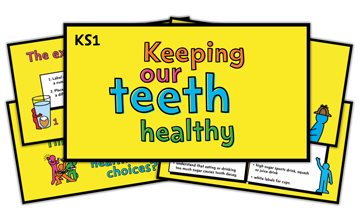 Keeping our teeth healthy – KS1 lesson plan