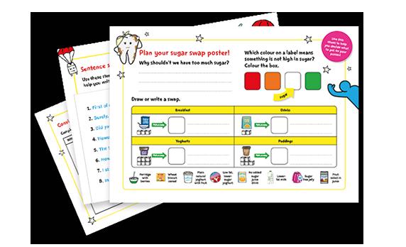 KS1 and KS2 English worksheets – Sugar Smart World