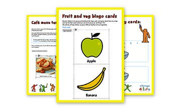Our Healthy Year: Reception classroom activity sheets