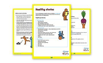 Our Healthy Year: ideas for Reception teachers