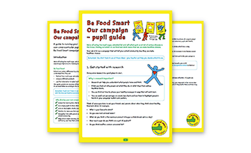 Be Food Smart: pupil campaign pack