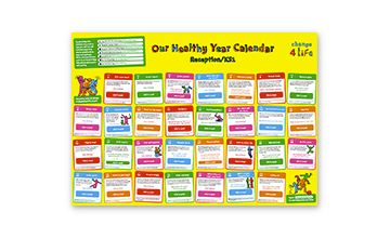 Our Healthy Year: Reception/KS1 calendar