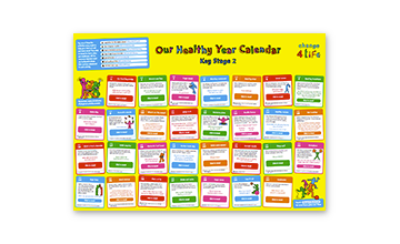 Our Healthy Year: Year 6 calendar
