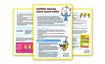 Healthier Snacking school council toolkit
