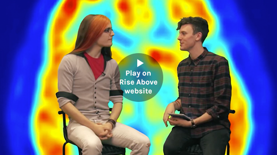 Play video on Rise Above website