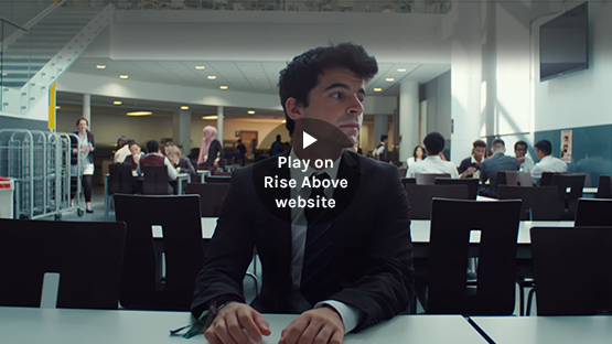 Play 'Life swap: dealing with change' video on Rise Above website